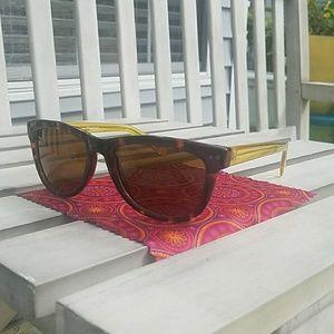 Cole Haan Polarized Tortoise Sunglasses